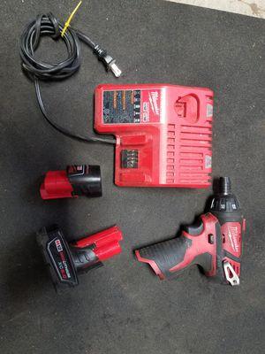M12 impact hammer drill w/2 batt & chrg. 120$ for Sale in Stanwood, WA