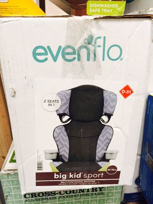 Evenflo booster seat for Sale in Las Vegas, NV