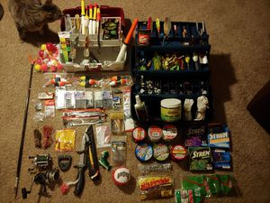 His & Her Fishing Tackle 4 the Family ❗ALL Included ❗ Merry 🎄 Christmas ❗ for Sale in Delaware, OH