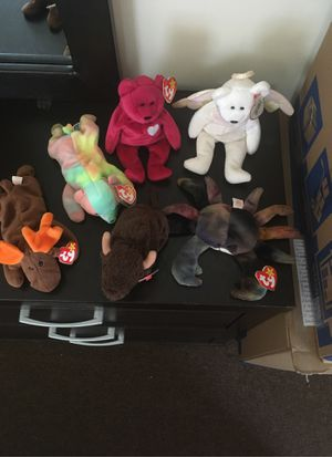 SIX 1998 TY BEANIE BABIES for Sale in Baltimore, MD