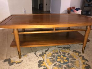 Vintage 1955 - 3 piece set coffee table & 2 end tables for Sale in Goodyear, AZ