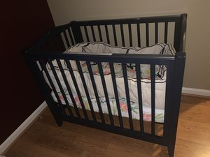 Pottery Barn mini crib set for Sale in Germantown, MD