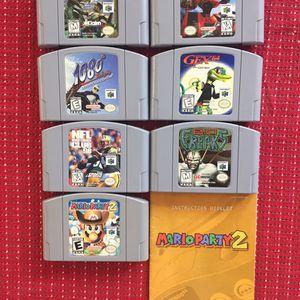 Nintendo 64 bundle N64 Games for Sale in Ventura, CA