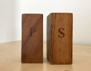Wooden Salt and Pepper Shaker Set for Sale in West Springfield, MA