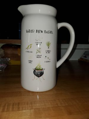 Rae Dunn Witch's Brew Pitcher for Sale in Salisbury, MA