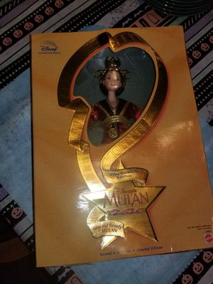 Limited Edition 1998 Mulan Barbie Doll for Sale in Bonney Lake, WA