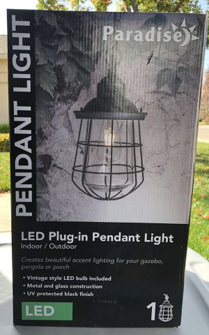 NEW Light Fixture for Sale in Sanger, CA