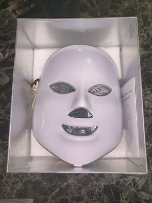 7 Color LED Light Photon Face Neck Mask Rejuvenation Skin Facial Therapy Wrinkle for Sale in Warren, MI