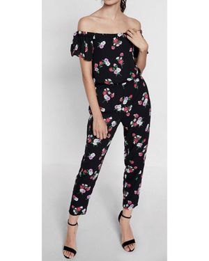 Express Floral Print Off The Shoulder Jumpsuit for Sale in Washington, DC