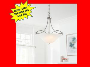Home Decorators Collection 3-Light Brushed Nickel Pendant BRAND NEW for Sale in Plantation, FL