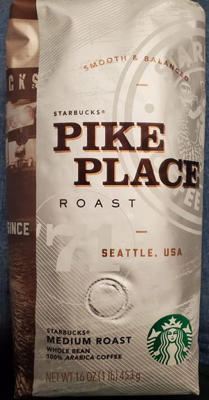 Starbucks Pike Place Medium Roast 6 Pack for Sale in New Britain, CT