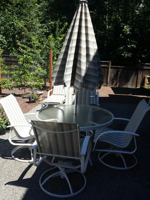 11 piece outdoor Patio furniture set for Sale in Renton, WA