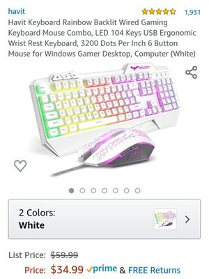 Gaming keyboard H726 for Sale in San Diego, CA