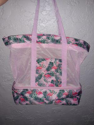 Beach bag with hidden BEER cooler for Sale in Ceres, CA
