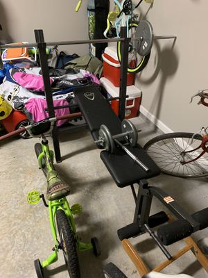 Weight bench for Sale in Dallas, GA