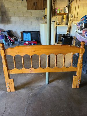 Queen size bed frame and headboard for Sale in Lewisburg, PA