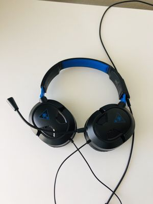 EAR FORCE RECON 50P AMPLIFIED STEREO GAMING HEADSET PLAYSTATION 4 PS4 USED for Sale in Lewisville, TX