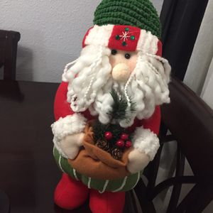 Santa 🎅🏼 Clause home decor $15 for Sale in Lawndale, CA