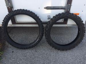 Dunlop tires dirt bike for Sale in Salt Lake City, UT
