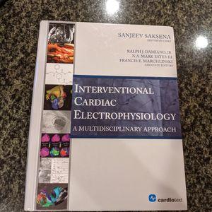 Interventional Cardiac Electrophysiology : A Multidisciplinar By Sanjeev Saksena for Sale in Fremont, CA