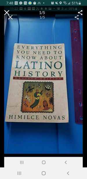 Peoria az Everything you need to know about Latino History book please read description for pick up location options for Sale in Peoria, AZ