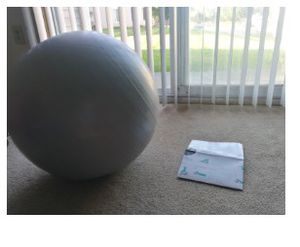 Crane Exercise yoga ball for Sale in Columbia City, IN