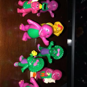 Barney Action Figures for Sale in Stockton, CA