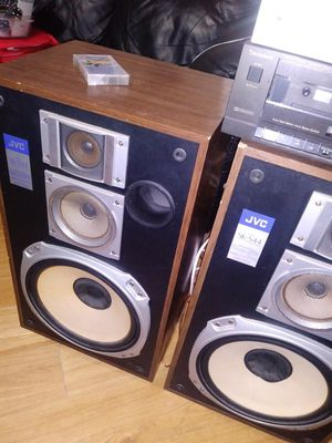 Amplifier & Dual Cassette Player/Recorder for Sale in Houston, TX