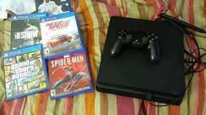 Ps4, 5 games and 1 controller.. for Sale in Nashville, TN