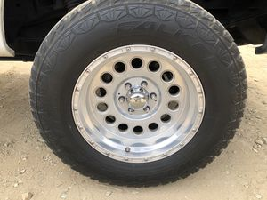 """Looking to trade for 17"""" rims with decent tires for Sale in Upland, CA"""