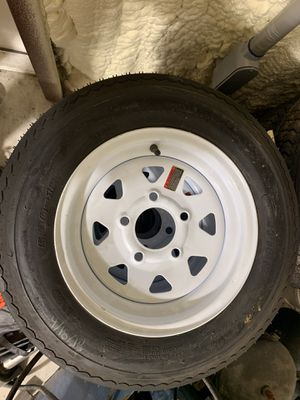 "Trailer rim and tire new 12"" for Sale in Brandon, FL"