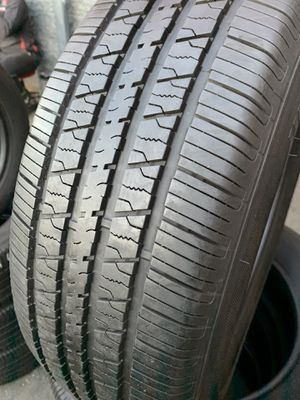 235/60/17 set of Hankook tires installed for Sale in Ontario, CA