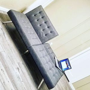 Like new futon folded couch bed for Sale in Portland, OR
