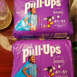 HUGGIES PULL-UPS SIZE 4T-5T $13 For ALL for Sale in Las Vegas, NV