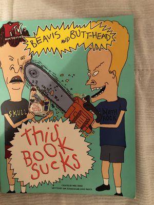 """Beavis n Butthead """"this book sucks"""" book for Sale in Mesa, AZ"""