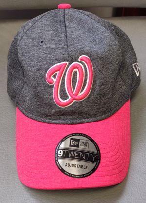 WASHINGTON NATIONALS Ladies/Mother's day Pink/Grey Adjustable for Sale in TN OF TONA, NY