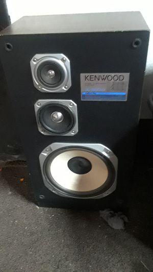 Ken wood 3 way speaker system for Sale in Hesperia, CA