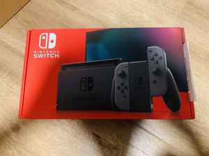 Nintendo Switch V2 Gray - Brand New with Receipt for Sale in La Puente, CA