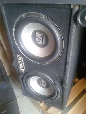 2 12-in gravity subwoofers for Sale in Bakersfield, CA