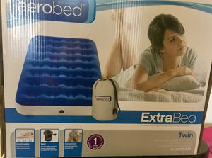 Air mattress (with inflate tool and bag) - NEW in box - never opened for Sale in Arlington, VA