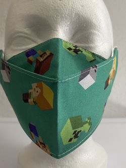 3D Face Mask Adults (Minecraft)-D31 for Sale in San Diego,  CA