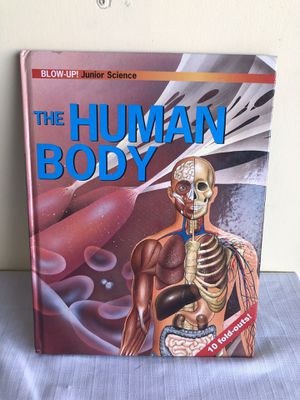 The human body 10 fold out page book for Sale in San Jose, CA