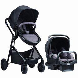 Evenflo Pivot Travel System Stroller & car seat for Sale in Auburn,  WA