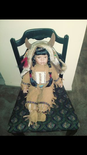 Antique american Indian doll for Sale in Spring Hill, FL
