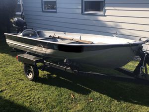 "12"" aluminum boat for Sale in Everett, WA"