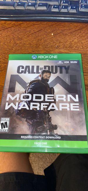 COD modern warfare for Sale in San Tan Valley, AZ