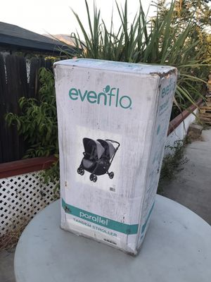Evenflo® Parallel™ Tandem Stroller in Grey for Sale in Highland, CA