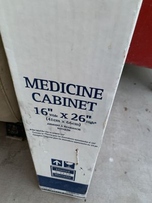 New Medicine cabinet $30 for Sale in Fort McDowell, AZ