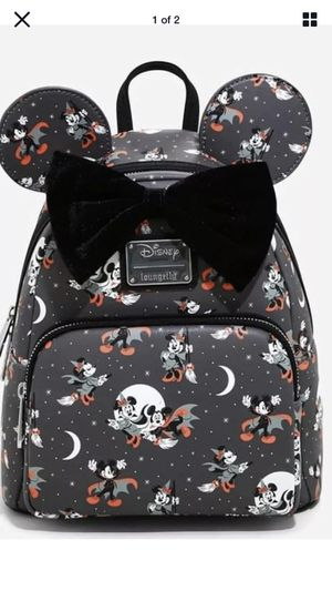 Disney Mickey Minnie Halloween vampire loungefly backpack brand new original tags for Sale in Portland, OR