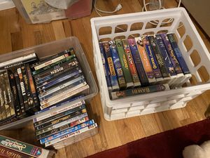 Bundle of dvds and Disney vhs for Sale in Denver, CO